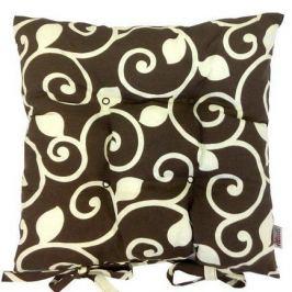 Подушка на стул с рисунком