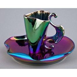 Чашка высокая Dali (0.15 л) с блюдцем 46120414-2221k Rudolf Kampf