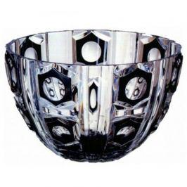 Салатник Checker Light, 27 см, черный 64541/49876/47078 Ajka Crystal