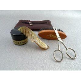 Набор для усов и бороды в кожаном футляре, 4 пр. 7047 Dr.Dittmar