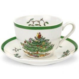 Чашка чайная Рождественская ель (200 мл), с блюдцем SPD-XT1130-X-1 Spode