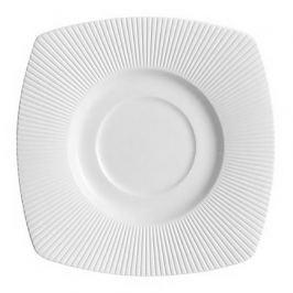 Блюдце Ginseng white, 15х15 см, белое S0541 Chef&Sommelier