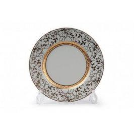 Набор тарелок Mimosa Lierre Or, 22 см, 6 шт. 539117 947 Tunisie Porcelaine