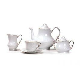 Сервиз чайный Vendange Filet Or, 15 пр. 699509 1009 Tunisie Porcelaine