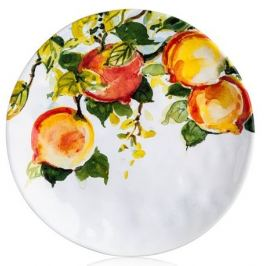 Тарелка Персики
