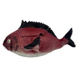 Супница вертикальная Рыбы (3.3 л), 43х18х15.5 см BOR65007004 Bordallo Pinheiro