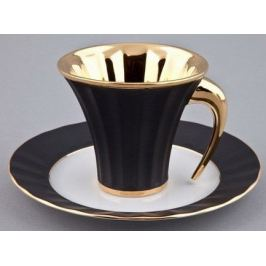 Чашка Ancient Egypt (0.20 л) с блюдцем 61120415-2112k Rudolf Kampf