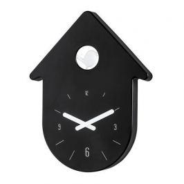 Часы настенные Toc-Toc, 24х31 см, черные 2329103 Koziol