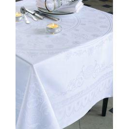 Скатерть прямоугольная, 174х254 см, белая GT1305 Garnier-Thiebaut