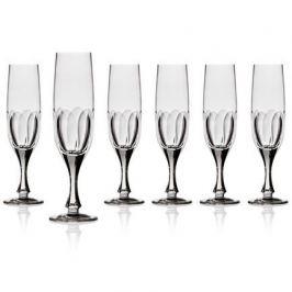 Набор бокалов для шампанского (150 мл), 21 см, 6 шт. CDP1603 Cristal de Paris