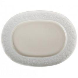 Блюдо овальное Georgia Ivory, 39.5х28.5 см JLC1013 J.L. Coquet