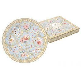 Тарелка десертная Majestic, 19 см, голубая, в подарочной упаковке EL-R1358_MAJF Easy Life (R2S)