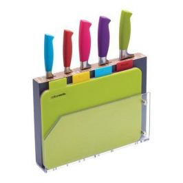 Набор ножей с разделочными досками Colourworks, 29.5х21.5х4 см, 10 пр. CWKNB15 Kitchen Craft