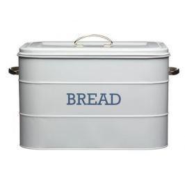 Хлебница Living Nostalgia, 24х21.5х25 см, серая LNBBINGRY Kitchen Craft