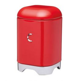 Ёмкость для хранения кофе Lovello Retro, 11.5х11.5х18.5 см, красная LOVCOFFEERED Kitchen Craft