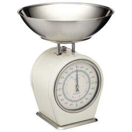 Весы кухонные механические Living Nostalgia (4 кг), кремовые LNSCALECRE Kitchen Craft