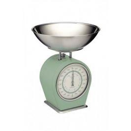 Весы кухонные механические Living Nostalgia (4 кг), бежевые LNSCALEGRN Kitchen Craft