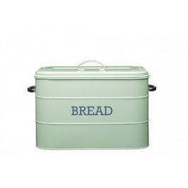 Хлебница Living Nostalgia, 24х21.5х25 см, зеленая LNBBINGRN Kitchen Craft