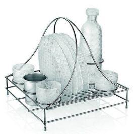 Набор посуды на подставке Tricot, 10 пр. 7980.1 IVV