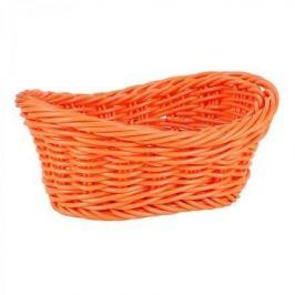 Корзинка для хлеба Belvedere, 24x14.5x8.5 см, овал волнистый, оранжевый B919037 Viejo Valle