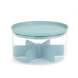 Контейнер для чая стеклянный, 19х11 см, мятный 110665 Brabantia