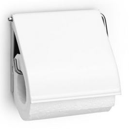 Держатель для туалетной бумаги, 12.3х13.3х1.7 см, белый 414565 Brabantia