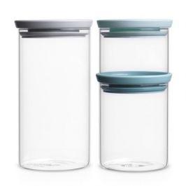 Набор модульных стеклянных банок, 3 шт. 298325 Brabantia
