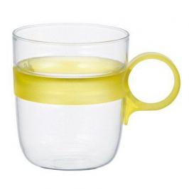 Кружка Drop (0.26 л), 7.5х10.6 см, желтый 21684 Kinto
