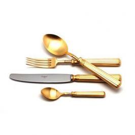 Набор столовых приборов LINE GOLD, 24 пр. на 6 персон 9172 Cutipol
