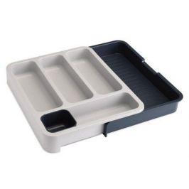 Раздвижной лоток под столовые приборы, 36х28x5.5 см, серый 85042 Joseph & Joseph