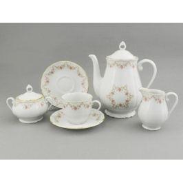 Сервиз кофейный Верона Розовая нить, 15 пр. 67160714-0158 Leander
