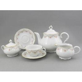 Сервиз чайный Верона Розовая нить, 15 пр. 67160725-0158 Leander