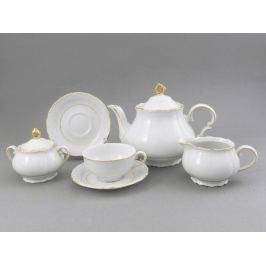 Сервиз чайный Верона с золотом, 15 пр. 67160725-1139 Leander