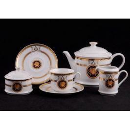 Сервиз чайный Сабина Золото Версаче, 15 пр. 02160725-A126 Leander