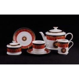 Сервиз чайный Сабина Красная лента Версаче, 15 пр. 02160725-B979 Leander