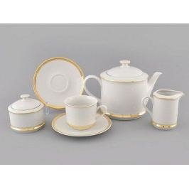 Сервиз чайный Сабина Изящное золото, 15 пр. 02160725-0511 Leander