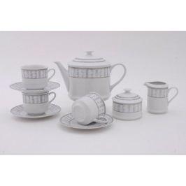 Сервиз чайный Сабина Цветочный узор, 15 пр. 02160725-1013 Leander