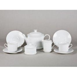 Сервиз чайный Сабина Белоснежный рельеф, 15 пр. 02160725-2326 Leander