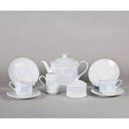 Сервиз чайный Сабина Голубой узор, 15 пр. 02160725-242B Leander