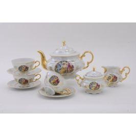 Сервиз чайный Соната Пастораль, 15 пр. 07160725-0676 Leander