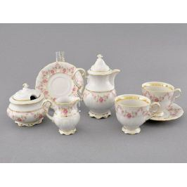 Подарочный набор кофейный мокко Соната Розовая нить Тет-а-тет 07140743-0158 Leander