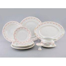 Сервиз столовый Соната Розовая нить, 24 пр. 07162012-0158 Leander