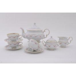Сервиз чайный Соната Розовая нить, 15 пр. 07160725-0158 Leander