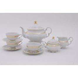 Сервиз чайный Соната Изящное золото, 15 пр. 07160725-1239 Leander