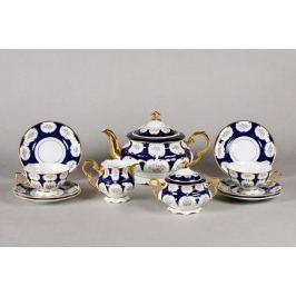 Сервиз чайный Соната Элегантный орнамент, 15 пр. 07160725-0419 Leander
