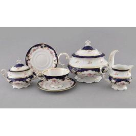 Сервиз чайный Соната Розовый узор, 15 пр. 07160725-1257 Leander