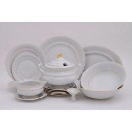 Сервиз столовый Соната Тонкое золото, 25 пр. 07162011-1139 Leander
