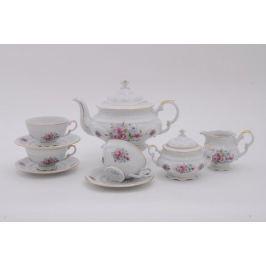 Сервиз чайный Соната Весенние цветы, 15 пр. 07160725-0013 Leander