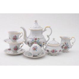 Сервиз кофейный Соната Весенние цветы, 15 пр. 07160714-0013 Leander