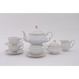Сервиз чайный Соната Тонкое золото, 15 пр. 07160725-1139 Leander